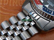 Solid Steel Replacement Jubilee Bracelet Double Lock Buckle For SKX013 Turtle 55