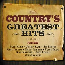 COUNTRY'S GREATEST HITS - (Various Artists) 2CD