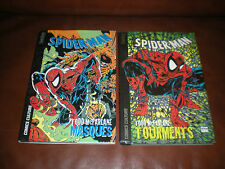 SPIDER-MAN - LOT DE 2 TOMES CARTONNEES AVEC JAQUETTES COLLECTION BETHY McFARLANE