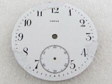 Original White Porcelain Dial (Watch-face) Omega Antique Swiss Pocket Watch