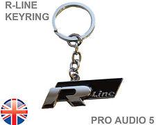R-Line PORTACHIAVI PICCOLO-Qualità Premium-GOLF PASSAT SCIROCCO POLO LUPO UK
