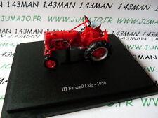 Tractor 1/43 universal Hobbies nº 118 IH Farmall Cub 1956