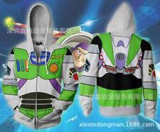 HOT Toy Story Buzz Lightyear hoodie Sweatshirt Cosplay Costume coat jacket