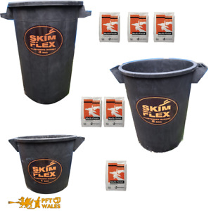 Plaster Mixing Bucket VERY heavy duty 1,2,3 & 4 bag buckets ***Fast delivery***