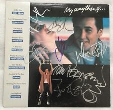 """Autographed """"Say Anything: Original Motion Picture Soundtrack"""" Vinyl John Cusack"""