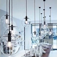 Modern Glass Ball Pendant Lamp Living Room Lamp Ceiling Lights Chandelier 9867U