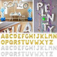 ALS_ Cute Golden Silver Number Letter Foil Balloons Birthday Decoration Ballon E