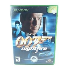 007 Nightfire James Bond EA Games comes with cover art, xbox case and game disc