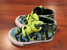 kidgets Midwood Brands LLC Baby Toddler Shoes Multi-Color High Tops Size 7