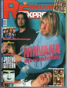 RENNBAHN EXPRESS Österreich 12/1994/ NIRVANA, DRAHDIWABERL, RIVER PHOENIX