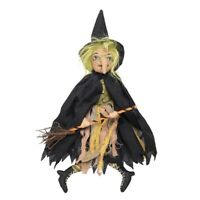 Hortense Little Witch Figurine Joe Spencer Halloween Gathered Traditions New