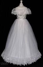 Unbranded Sleeveless Portrait/Off-Shoulder Wedding Dresses