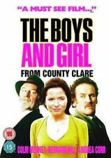 THE BOYS AND GIRL FROM COUNTY CLARE COLM MEANEY BERNARD HILL ANDREA CORR DVD NEW