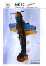 Hungarian Aero Decals 1/48 YAKOVLEV YAK-52 Vari Gyula