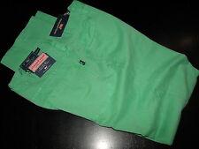 Vineyard Vines New Classic Fit 5 Pocket Barbuda Green Pants 35 Waist 35X32