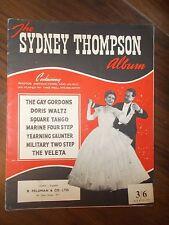 VINTAGE di spartiti musicali LIBRO-L' ALBUM DI SYDNEY Thompson-Il Gay Gordons ecc.