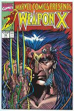 MARVEL COMICS PRESENTS #74 Apr 1991 NM/MT 9.8 WOLVERINE WEAPON-X Barry SMITH Art