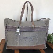 Myra Bag Honey Bee Print Weekender Bag large tote bag NWT