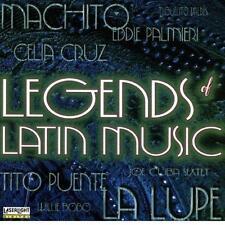 Legends of Latin Music :Machito Celia Cruz  Joe Cuba Sextet  Willie Bobo La Lupe
