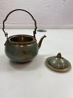 Vintage Brass Teapot Collectible Decorative