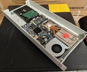 "19"" 1U Rackmount Short Case, ABS Project Box Enclosure, ITX Server, Raspberry Pi"