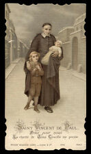 santino cromo-holy card S.VINCENZO DE PAOLI bouasse lebel