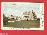 DENVER CO 1907 THE OAKES HOME  WINTERHALTER NORTH BALTIMORE O POSTCARD