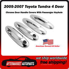 2005-2007 Toyota Tundra 4 Door Chrome Door Handle Trim Covers USA Seller/Shipper