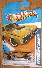 2011  Hot Wheels '68 Mercury Cougar #135/244    Kmart