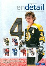 "2014 Canada Post ""Details"" Catalog: Bobby Orr NHL Stamps"