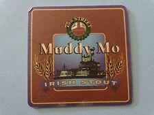 BEER Bar COASTER ~*~ 75th Street Brewery Muddy Mo Irish Stout ~ Kansas City, MO