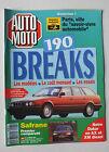 MAGAZINE - AUTO MOTO N° 113 - MARS 1992 *