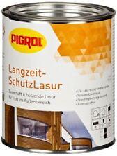 PIGROL Langzeitschutzlasur | 0,75; 2,5 Ltr. | 15 versch. Farbtöne | seidengl