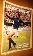 LA GAZZETTA DELLO SPORT ILLUSTRATA-ANNO 3 #  8 - 24 FEBBRAIO 1979 -ORIALI-CAUSIO