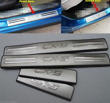 For Mazda CX-5 CX5 2012-16 Inner Door Stainless Threshold Sill Scuff Plate