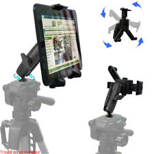 "Apple iPad PRO AIR MINI 7-12"" Tablet Video Camera Recording Tripod Adapter Mount"