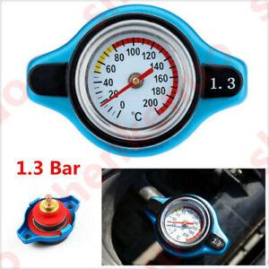 6.5x5x4.4cm Car Thermo Radiator Cap Water Temp Gauge Meter Small Head / 1.3 Bar