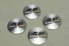 NEW JDM 4 pcs Mugen Power Aluminum Alloy Car Wheel Center Hub Caps