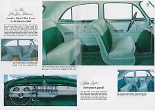 1952 CHEVROLET STYLELINE & BEL AIR PROSPEKT BROCHURE CATALOGUE ENGLISCH (USA)