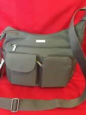 NWT Baggallini  Everyplace Cross body  Bag Gray, Clearance Sale!!