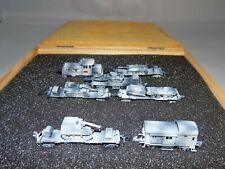 MARKLIN Z SCALE CUSTOM WWII ARMORED TRAIN SET IN WINTER CAMO - RARE