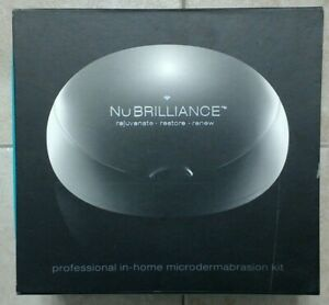 New in Box NuBrilliance Professional In-Home Microdermabrasion Kit w Extras