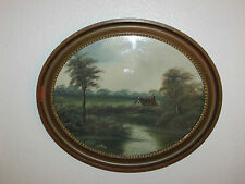 Late19th Century The Royal School Oil Painting On Board, By J. F. Burne