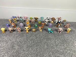 Bundle Job Lot of Littlest Pet Shop Toy Figures LPS Animals Cats Dogs RARE