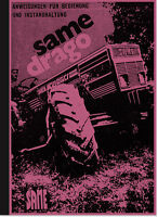 Same Drago Dieselschlepper Bedienungsanleitung Betriebsanleitung Handbuch Manual