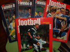 L'ANNEE DU FOOTBALL  1995-1996-1997-1998-1999