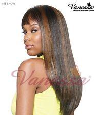 Vanessa Human Hair Blend show wig (colour 1 and 1B)