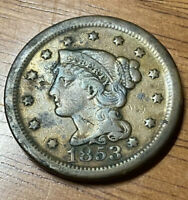 1853 U.S. Large One Cent