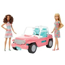 Barbie Jeep with Two Dolls BNIB SHIPS FAST