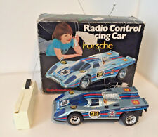 Vintage Porsche 917 Martini Radio Control Racing Car Nikko Amico toy w/box RARE!